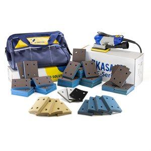 "EKAPRO 3""x4"" Total Sanding Kit - Central Vacuum"