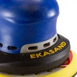 Ekasand E-Series 5 Inch Machine - Central Vacuum Hook Face - 3 / 16 Orbit