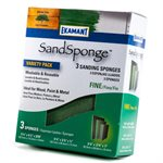 Uneesponge Eco-Green Fine -Variety Pack