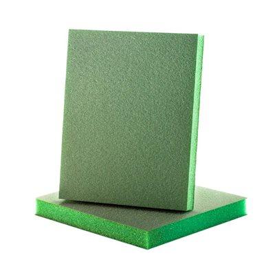 Uneesponge 1 / 2 in. Eco-Green Medium - 5 Pack