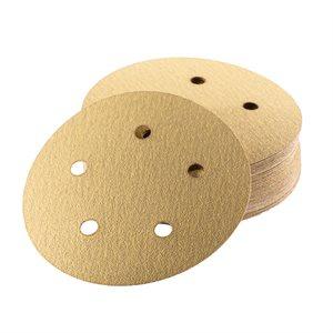 """Sanding Disc 5"""" x 5 Hole Grit #80 EKASTORM Hook & Loop"""